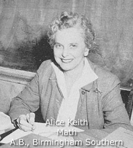 Keith, Alice