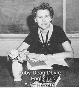 Doyle, Ruby Dean