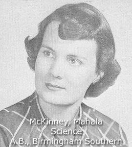 McKinney, Mahala