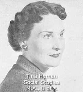 Hyman, Tina