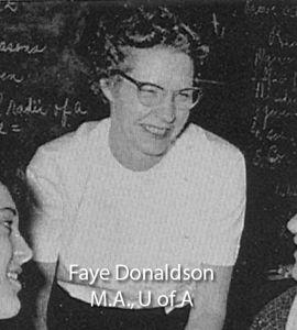 Donaldson, Faye