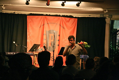 Matt Smith welcomes the Passim another Passim full house.