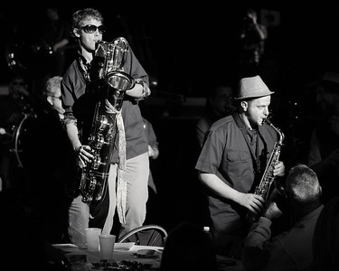 The Party Band Saxaphones