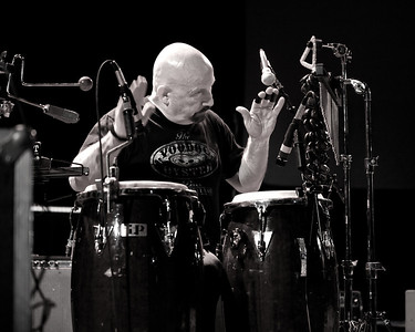 Josh Logan's band percusionist  Paul Costley