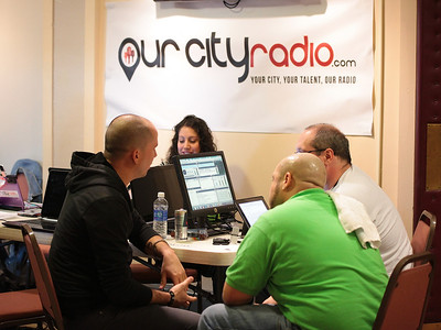 Our City Radio hosts interview Josh Logan