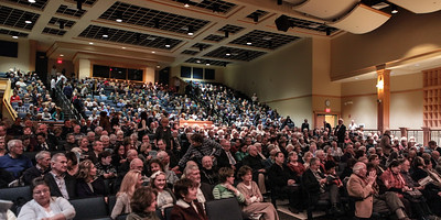 A capacity audience was on hand for the Plymouth Philharmonic's annual performance at the Plymouth North High School Performing Arts Center on Saturday Saturday night.  The theme for the  concert, The Heroic Symphony, included selections by Mozart and Beethoven, and guest horn soloist Richard Sebring.  Wicked Local Photo/Denise Maccaferri