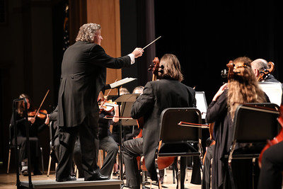 """The Plymouth Philharmonic Orchestra's Heroic Symphony,  at Plymouth Noth Performing Arts Center begins with Mozarts """"Overture from Don Giovani"""".  Wicked Local Photo/Denise Maccaferri"""