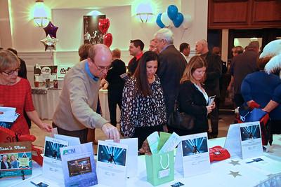 Gala for Giving guests shop and bid on dozens of silent auction items.