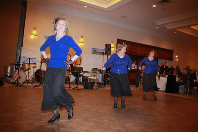 The South Shore Elder Services dance team Golden Girls – Susan Lambropoulos, Bobby Kay Davis and Gail Yaworsky – demonstrate memorable moves during The Gala of Giving dance competition.