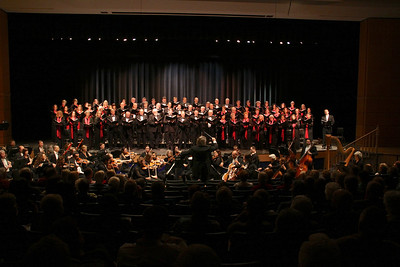 "Plymouth Philharmonic & Masterworks Chorale present Brahms' ""Requiem"" in the Duxbury Performing Arts Center last Saturday October, 27th"
