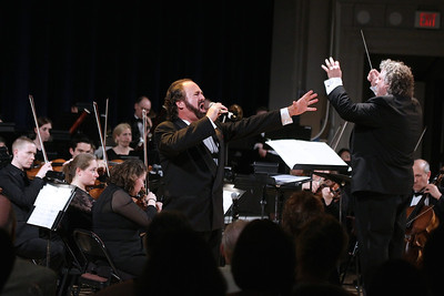 The intensity of both Craig Schulman and Steven Karidoyanes was a sight to be seen and heard at the Phil's Heroes, Monsters and Madmen Concert.