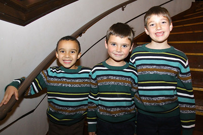 Faces Seen on Scene at the Plymouth Philharmonic Orchestra Holiday Pops held December 13-15.