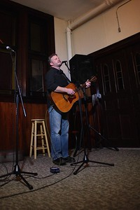 1st Open Mic 8 George Holt