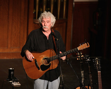 Between songs,Tom Rush told stories about his long career that had the Spire audience laughing throughout his performance.