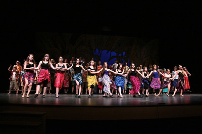 Beautiful dance routines highlighted the show.