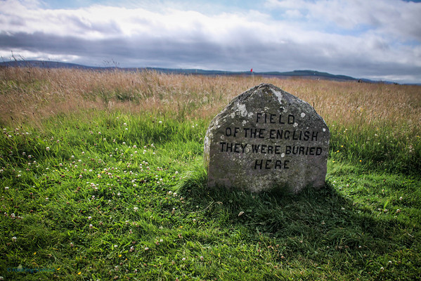 Memorial to English Killed on Culloden Moor