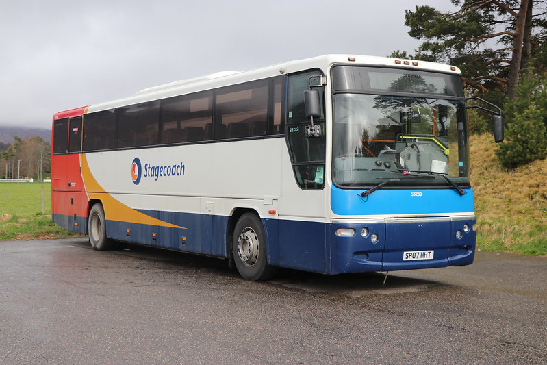 Stagecoach Highlands 53289 Coach Park Newtonmore Apr 17