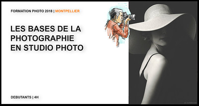 Apprendre la photo en studio à Montpellier