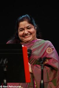 K.S.Chitra, in concert in Austin (TX), 2012