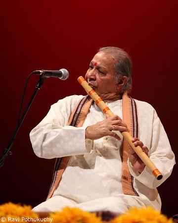Pt. Hari Prasad Chaurasia, in concert in Austin (TX), 2009
