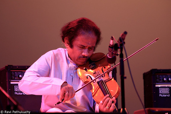 L.Subramaniam, in concert in Austin (TX), 2011