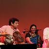 Dr. M. Balamuralikishna, in concert in Austin (TX), 2011