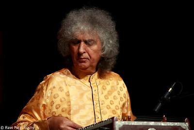 Pt. Shiv Kumar Sharma, in concert in Austin (TX), 2011