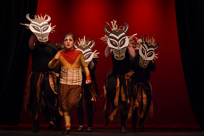 "HERNANDO, MISS - June 30, 2017 Kudzu Playhouse Kidzu production of ""Lion King, Jr."" at the the Hernando Performing Arts Center. / Photos by Bryan Cox"