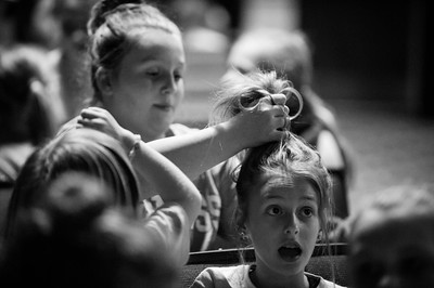 Rehearsal Stills from the DeSoto Family Theatre 2016 production of Seussical, Jr.