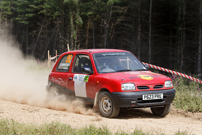 S. M. C. Members at the Greystoke Stages Rally (14th of July 2013)