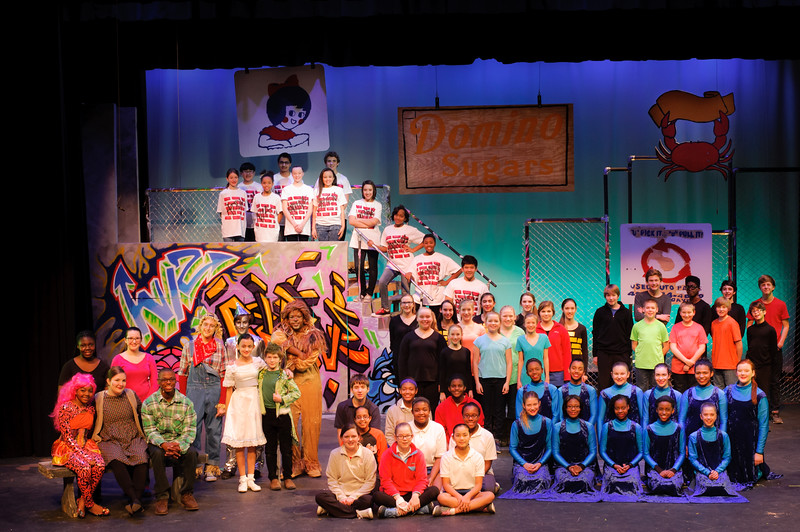 The Wiz Cast and Crew (Standard Crop)