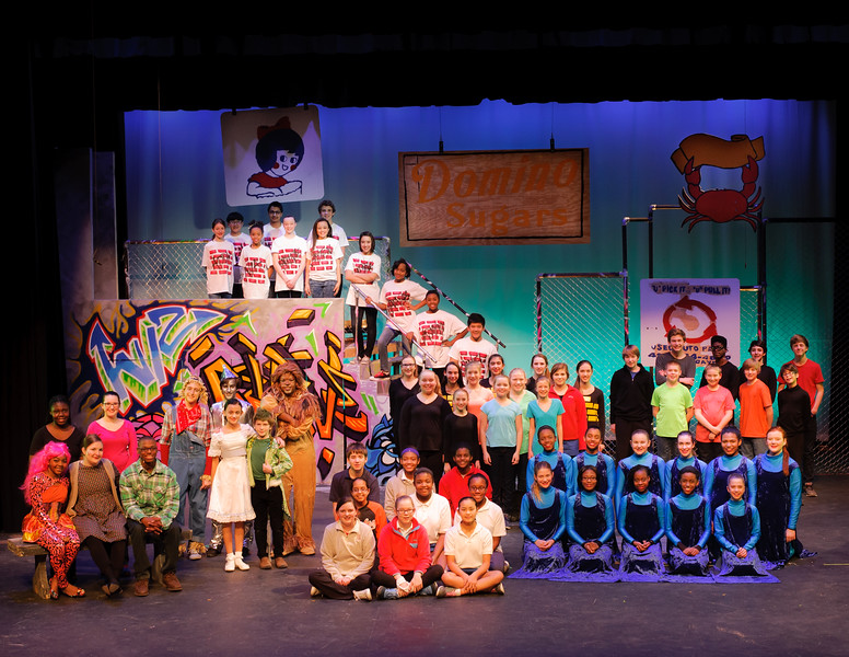 The Wiz Cast and Crew (Print Crop)