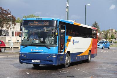 Stagecoach Bluebird 53336 Elgin Bus Station Aug 17