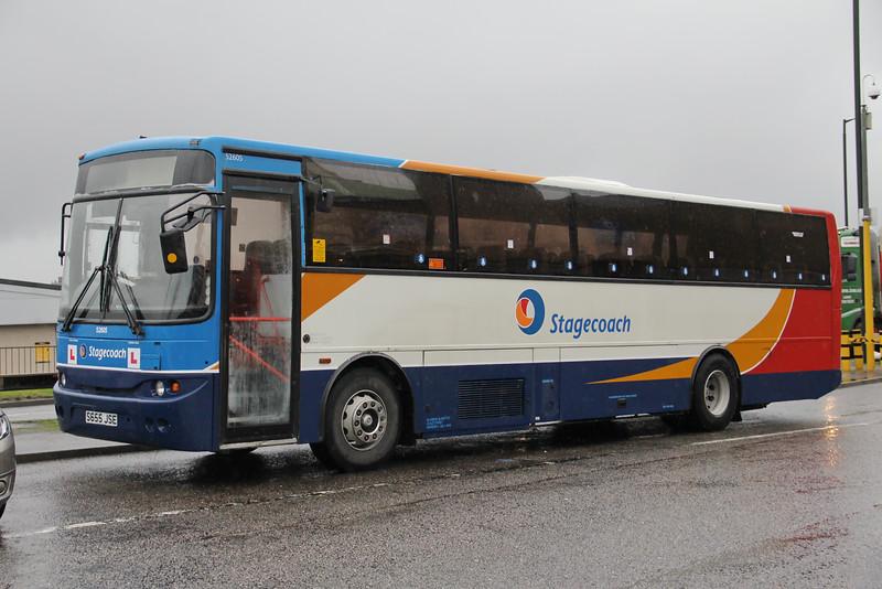 Stagecoach Bluebird 52605 EBS Nov 15