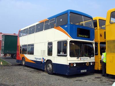Stagecoach Bluebird 10560 Macduff Depot May 06