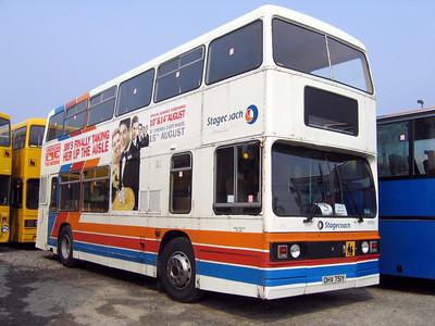 Stagecoach Bluebird 10751 Macduff Depot May 06