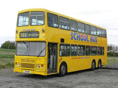 Stagecoach Bluebird 13510 Macduff Depot 3 May 07