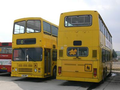 Stagecoach Bluebird 13513_514 Insch Depot 2 Apr 09