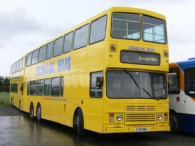 Stagecoach Bluebird 13506 Macduff Depot Jul 07