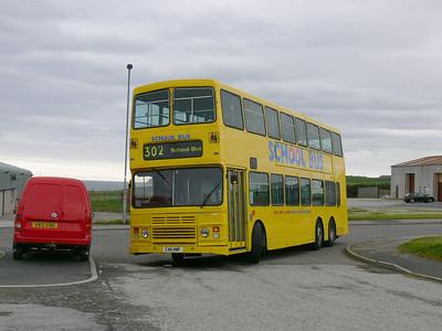 Stagecoach Bluebird 13510 Macduff Depot 1 May 07