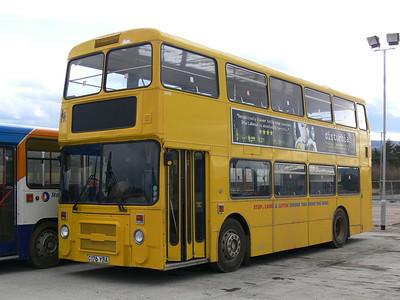 Stagecoach Bluebird 13176 Insch Depot Feb 08