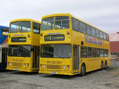 Stagecoach Bluebird 13503_12 Macduff Depot 1 May 07