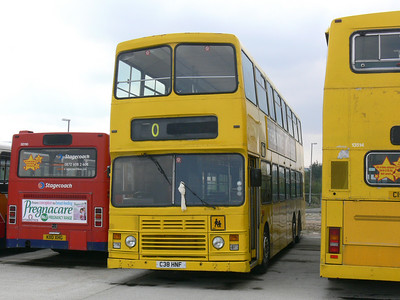 Stagecoach Bluebird 13513 Insch Depot 2 Apr 09