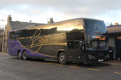 Stagecoach Bluebird 54245 Hanover Street Fraserburgh Nov 19