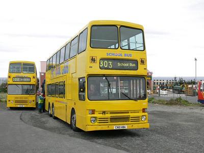 Stagecoach Bluebird 13502_10 Macduff Depot 1 May 07