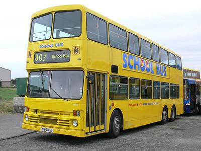 Stagecoach Bluebird 13502 Macduff Depot 2 May 07