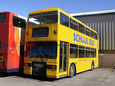 Stagecoach Bluebird 11119 Peterhead Depot Sep 06