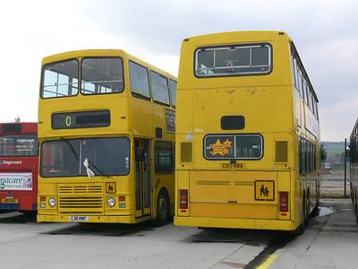 Stagecoach Bluebird 13513_514 Insch Depot 3 Apr 09