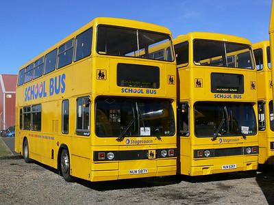 Stagecoach Bluebird 10587_626 Macduff Depot 1 Sep 06