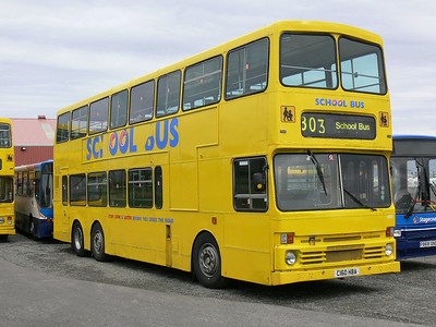 Stagecoach Bluebird 13502 Macduff Depot 3 May 07